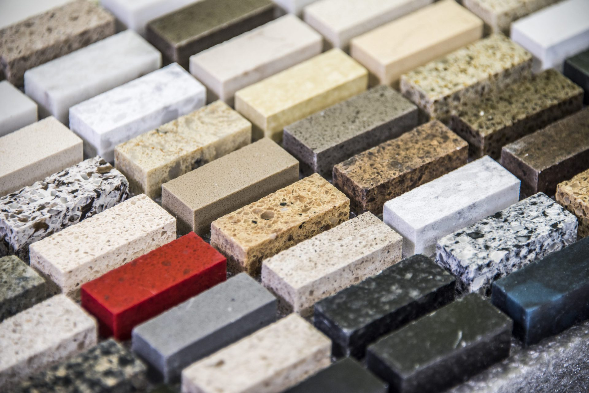 How to choose the right color for your countertops?